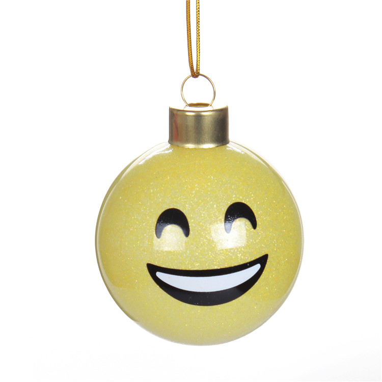 Emoji Christmas Ball