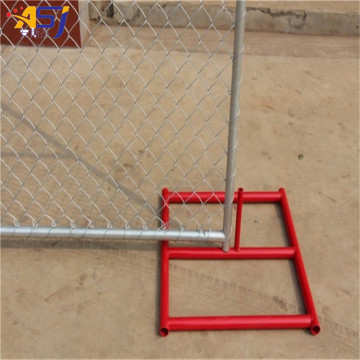 6ft*10ft chain link wire temporary fence for construction