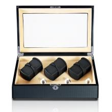 Triple Rotors Automatic Watch Box