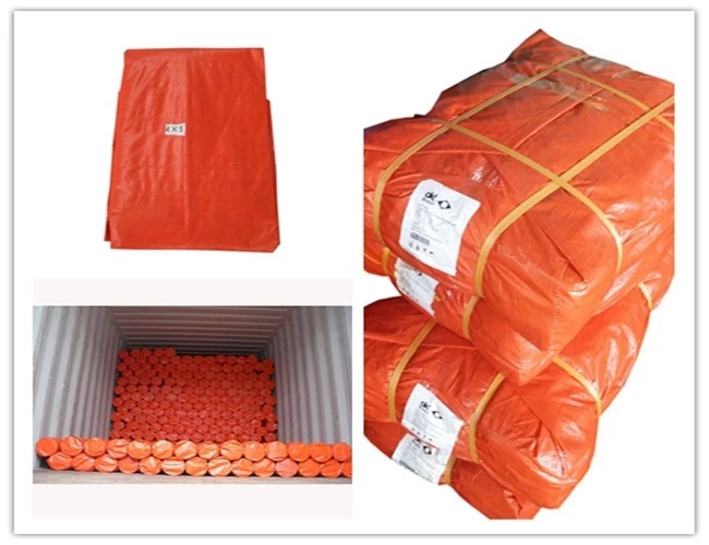 Orange Tarpaulin Package