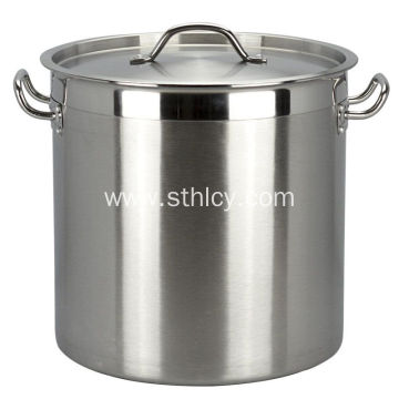 Restaurant Good Quality Thickened Stainless Steel Stockpot