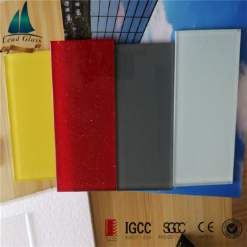 6mm 8mm Tempered Black Painted Splashback Glass Price