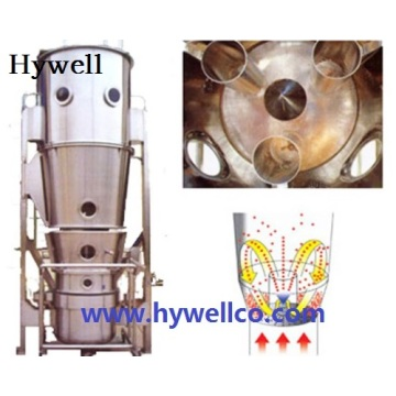 Powder Granulating Coating Machine