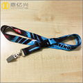 Hight quanlity polyester card holder string lanyards