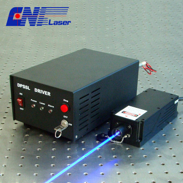 457nm single longitude mode blue laser