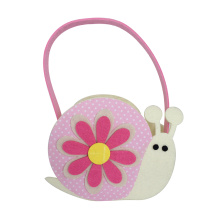 Easter small candy bag with snails pattern