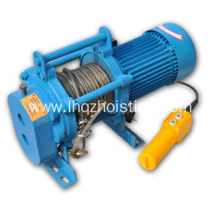 KCD multifunctional wire rope electric hoist winch
