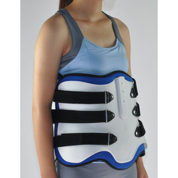 adjustable thoracic back lumbar support orthosis
