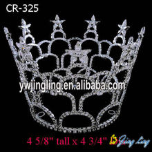 Large Full Round Pageant Crowns For Princess