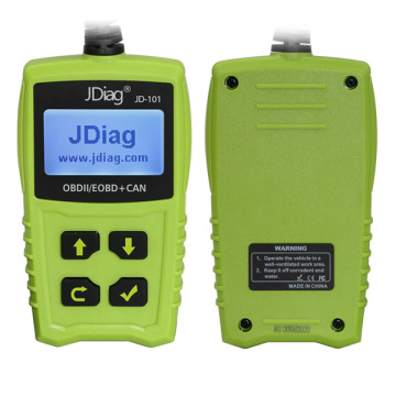 2017 JDiag JD101 OBDII EOBD CAN код сканері