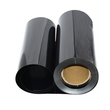 Plastic Black PVC films for Vacuum forming