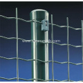 Green Color Security Euro Fence