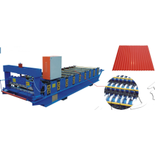 Steel sheet roof use colored panel roll forming machine