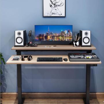 Home Computer Tables Laptop RGB Gaming Desk