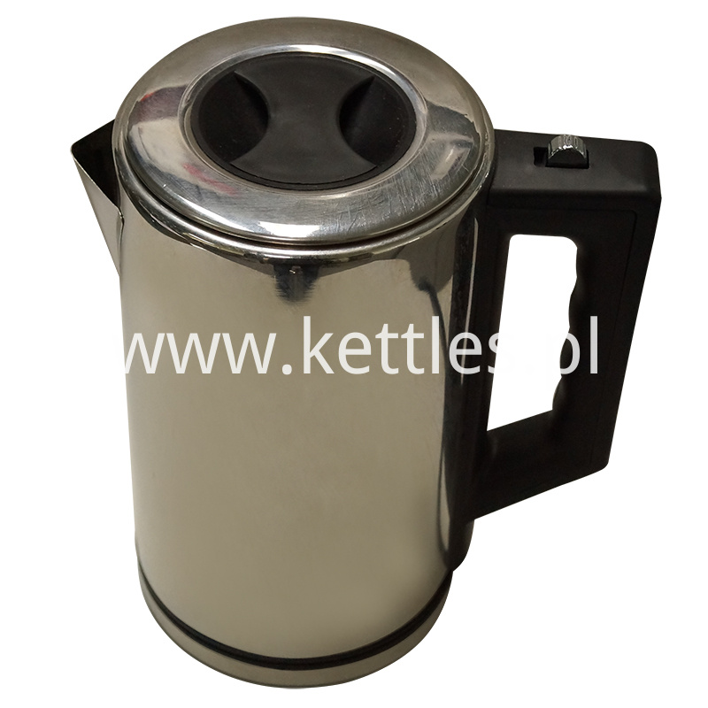 Stainless Steel Lid Kettle