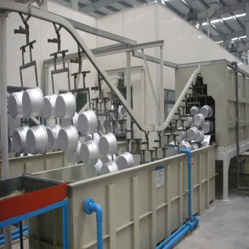 Full Set automatic electrostatic powder coating line