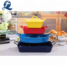 Food Storage Stoneware Bakeware Set Ceramic Baking Pan Cake