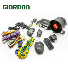 2 Way 100M Car Alarm System With Remote Engine Start Starter Tilt Sensor Colorful LCD Display Programmable Shock Warning