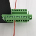 9 way through wall panel plug-in terminal block