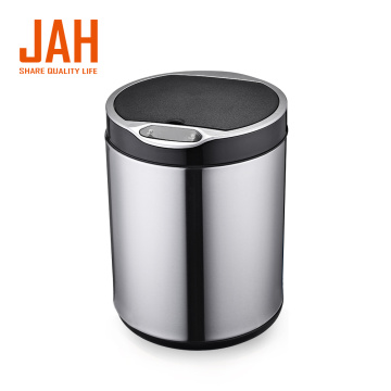 JAH Household Round Induction Trash Bin Smart Dustbin