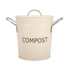 Metal Freezer Ice Bucket with Scoop