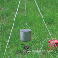 light and portable Titanium hanging pot
