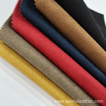 Deer Skin Colorful Composite Fabric