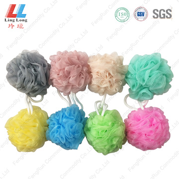 Single style various bath ball