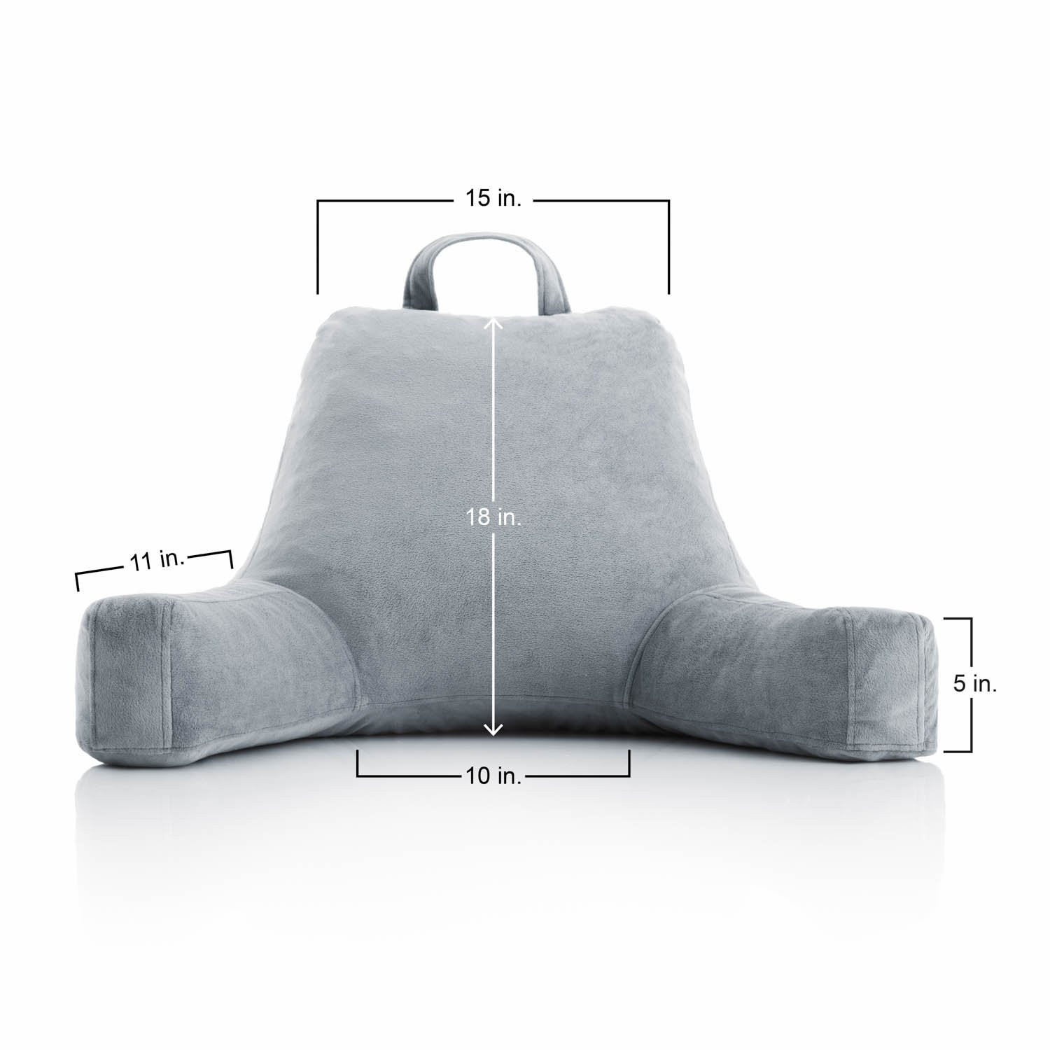 reading pillow with armrests