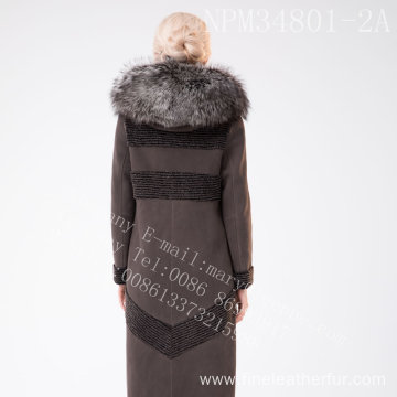 Winter Women Australia Merino Shearling Fur Overcoat