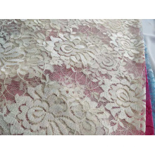 100% Polyester Lace without Spandex