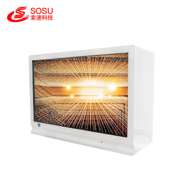 32 inch transparent capacitive touch lcd showcase