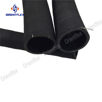 Collapsible water hose for suction and discharge
