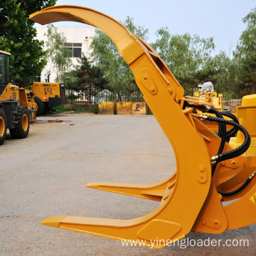 Wheel Loader with Log Grasper for Wood Loader