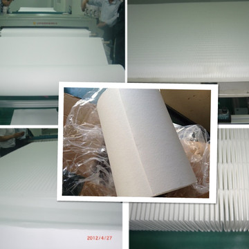 Fiberglass filter paper for oil filtration