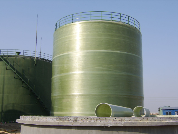 Wastewater Treatment FRP Tank