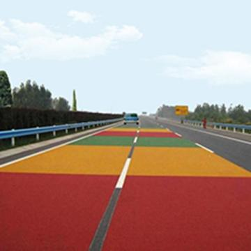 Low-cost Colorful Resin Pavement