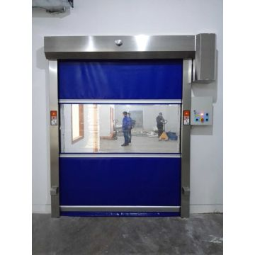 Speediness Automatic PVC Fabric High Speed Door