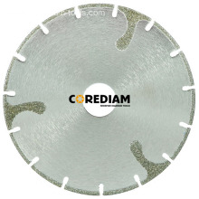 Segmented Electroplated Cutting Blade