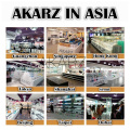 AKARZ Famous brand value meal camellia flower Vanilla Grapefruit Angelica Frankincense Lily Rosemary Lotus essential Oils 10ml*8
