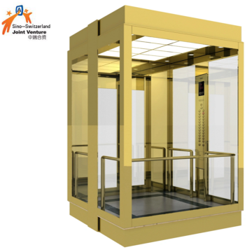 Passenger Home Villa Glass Sightseeing Elevator