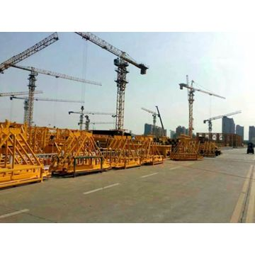 Construction building QTZ80-6012-6T tower crane