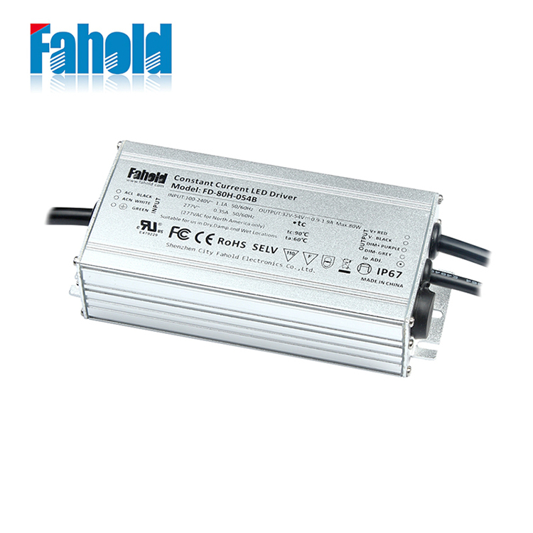 Dimmable LED Lighting Driver 80W