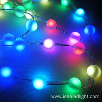 Mini Sphere RGB LED Christmas Ball String