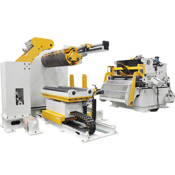 Compact Coil Handling and Press Feeding Machine