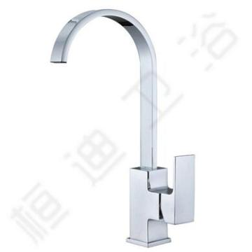 Brass Single Handle Kitchen Faucet