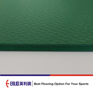 Enlio outdoor vinyl flooring with FIBA Approved