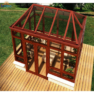 Flat Roof Glass Solarium for Sale Prefabricated Sunroom