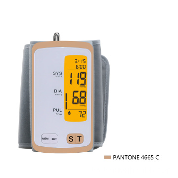 CE blood testing equipment arm blood pressure monitor