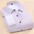 Men's yd stripe office shirt with warm plush